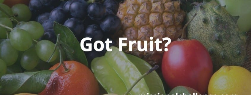 Got Fruit? | missionalchallenge.com